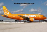 2008 - Skybus A319 N521VA at Ft. Lauderdale aviation stock photo #3012