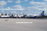 2008 - Three Spirit A319s at Ft. Lauderdale-Hollywood International Airport airline aviation stock photo #3014