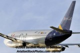 2008 - Aerogal B737-2Y5/Adv HC-CER takeoff from MIA airline stock photo #0708