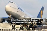 2008 - Lufthansa B747-430 D-ABVR airline aviation stock photo #0745