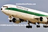 Alitalia Cargo MD-11F EI-UPU on approach to MIA aviation airline stock #1157