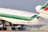 Alitalia Cargo MD-11F EI-UPU landing at MIA aviation airline stock #1161