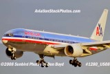 American Airlines B777-223/ER N790AN on approach to MIA aviation airline stock photo #1280