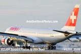 Swiss International A330-223 HB-IQJ landing at MIA aviation airline stock photo #1291