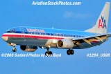 2008 - American Airlines B737-823 N909AN on approach to MIA airline aviation stock photo #1294