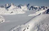 Upper Dawes Glacier, Mussell & Noel Pks, Mt Ratz, View SE  (StikinePM042909--_203.jpg)