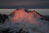Alpenglow Reflected On Cloudcap  (MtBaker100909-113adj.jpg)