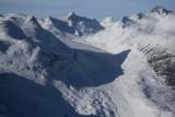 Frank Smith Glacier, Mt Fowler, & Transition Pk, View W/NW  (Lillooet011508-_0274.jpg)