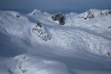 Lillooet Mt:  View NNE From Dalgleish's Unnamed E Glacier  (Lillooet011508-_1130.jpg)