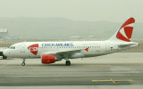 Czech airlines' brand new A-319 at MAD