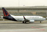 Brussels Airlines B-737-700 arrivng at MAD