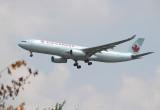 AC A-330-300 approaching LHR 27R