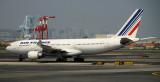Air France A-330 arriving in EWR