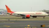 Air India B-777-200LR dashing down the runway