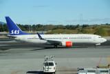 SK 737-800 at OSL