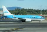 KLM B-737-700 at OSL