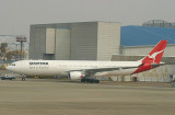 QF A330-300 spends its day in NRT and will depart for Austrailia in the evening