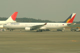 Philippines A-330 being pushed back, NRT, March 2008