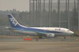 All Nippon 737-500 in NRT, March 2008