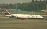 Small CRJ in NRT, the world of widebodies