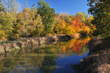 Fall colors on Loramie Creek