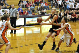 Coming in for a layup