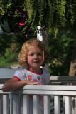 Ellie in the Gazebo