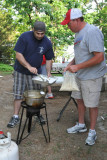 Jay and Jon cooking