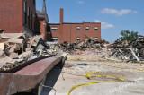 Old Fort Loramie School Demolition Photos