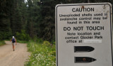 Brenda can lead on this trail!! - Glacier National Park, British Columbia, Canada