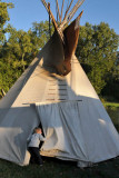 Checking out a TeePee