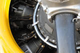 Wright Radial Engine in the B25
