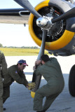 Walking the prop before the engine start