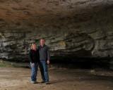 Cave entrance at Natural Bridge State Park, Slade, Kentucky