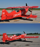 Sean D. Tucker aerobatic planes at the Piqua airport