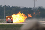 Jet powered school bus....which hit 350 mph.