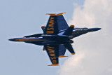 Blue Angels knife edge pass.  Converging speed of over 850 mph.