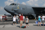 Nolan and me with a B-52