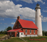 Tawas Point Lighthouse, Lake Huron, Michigan
