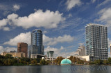 Downtown Orlando, as viewed from Eola Lake
