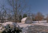 Cold Backyard View