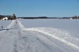 Winter roads in Shelby County