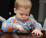 Angry Birds expert at 18 months
