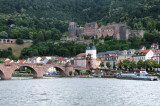Heidelberg Bridge with the Castle/Fort in the background