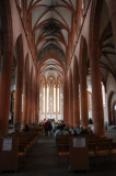 Inside the Heidelberg Cathedral