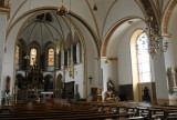 St Gertrud Catholic Church Interior in Lohne, Germany where my Great, Great Grandfather was baptised
