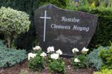 My ancestors grave marker in the Lohne cemetery