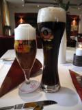 Liquid refreshment with dinner