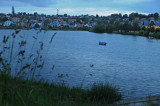 Late night view of the lake in Kolding