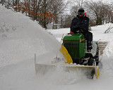 Clearing the Snow